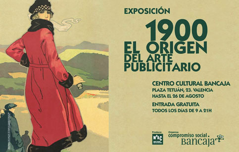 Cratel de la exposición 1900. El origen del arte publicitaro Valencia
