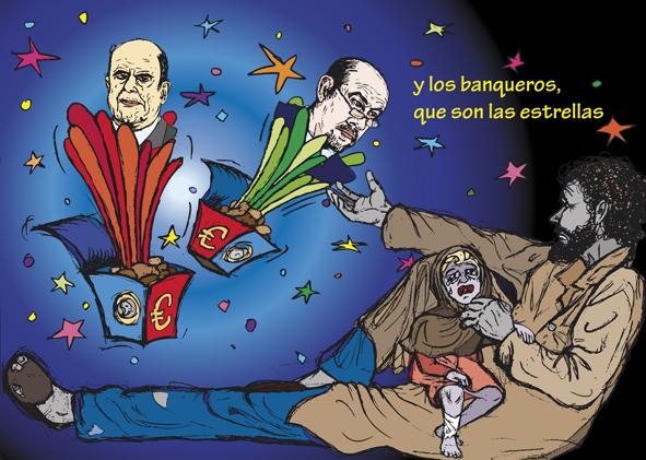 ilustracion digital CRISIS Ilustrator 04 © Jose Vicente Santamaria Valencia