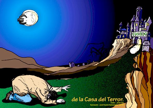 ilustracion digital CRISIS Ilustrator 06 © Jose Vicente Santamaria Valencia