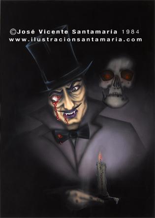 lustracion Dracul 1984 © Jose Vicente Santamaria Valencia Spain