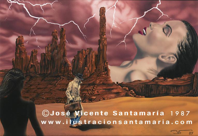 A MAL TIEMPO 1987 © Jose Vicente Santamaria Valencia Spain